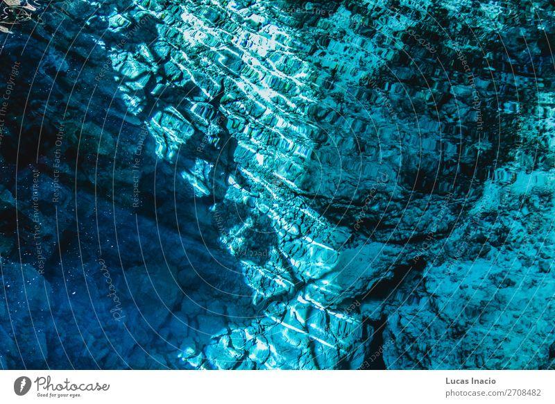 Hoyo Azul in Punta Cana, Dominikanische Republik Ferien & Urlaub & Reisen Tourismus Sommer Insel blau Fernweh amerika Amerikaner Mittelamerika Ausflugsziel