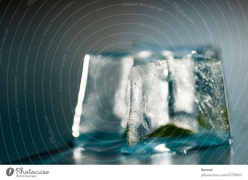 Eisstern kalt Lebensmittel Eis nass Stern (Symbol) Getränk gefroren Eiswürfel umhüllen eingeschlossen