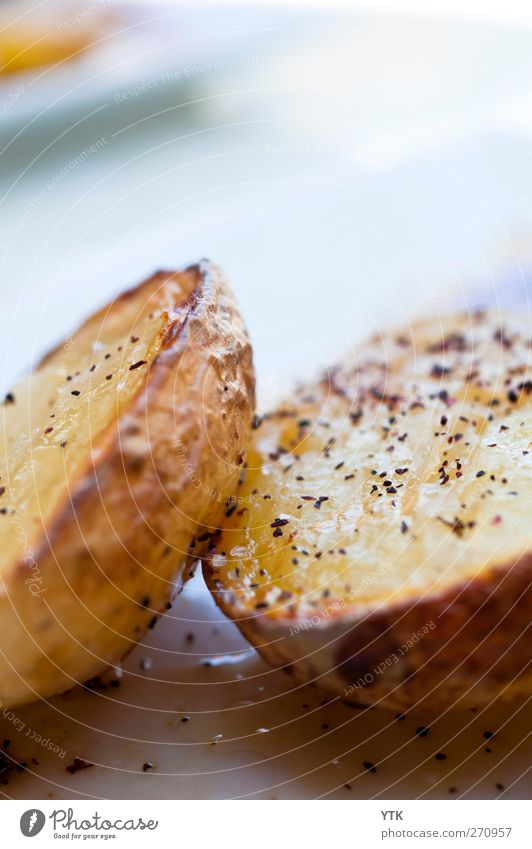 Mr. Potato-Head's Nachruf Lebensmittel Gemüse Ernährung Abendessen Bioprodukte Vegetarische Ernährung Geschirr Teller heiß knusprig Würzig Pfeffer lecker