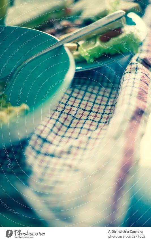 mother's day breakfast Ernährung Frühstück Geschirr Teller Schalen & Schüsseln Besteck Gabel frisch Gesundheit lecker blau Gedeckte Farben Innenaufnahme