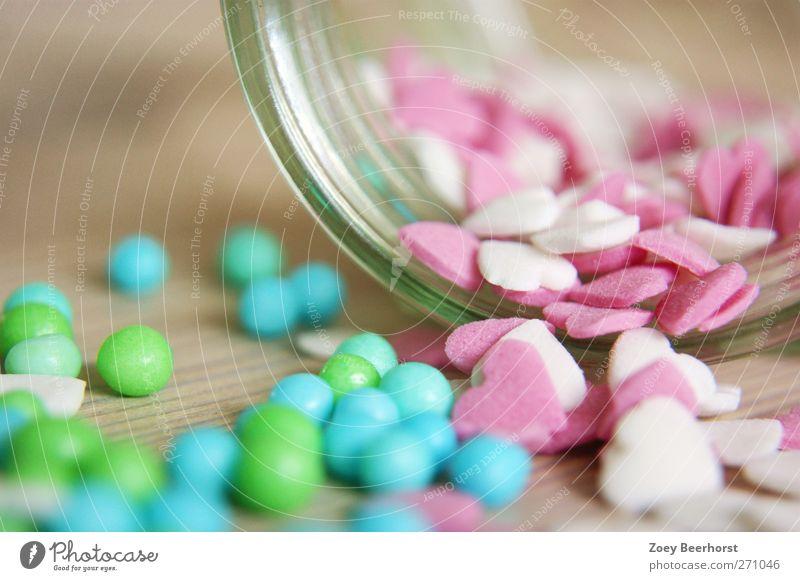 sweet love blau weiß grün Freude Liebe Leben rosa Herz Lebensmittel Fröhlichkeit Dekoration & Verzierung Lächeln Neugier Kitsch genießen entdecken