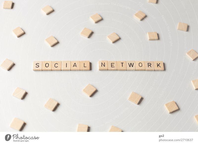 Social Network Spielen Medien Neue Medien Internet Schriftzeichen Freundschaft Zukunftsangst Stress chaotisch Fortschritt Gesellschaft (Soziologie) Identität
