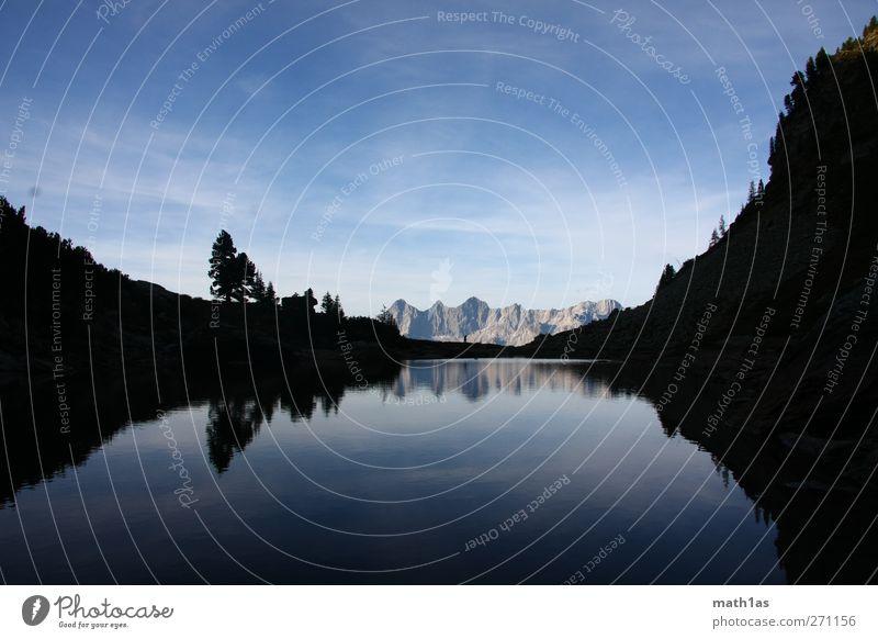 Spiegelsee Natur blau Landschaft Berge u. Gebirge See Stimmung Abenteuer genießen