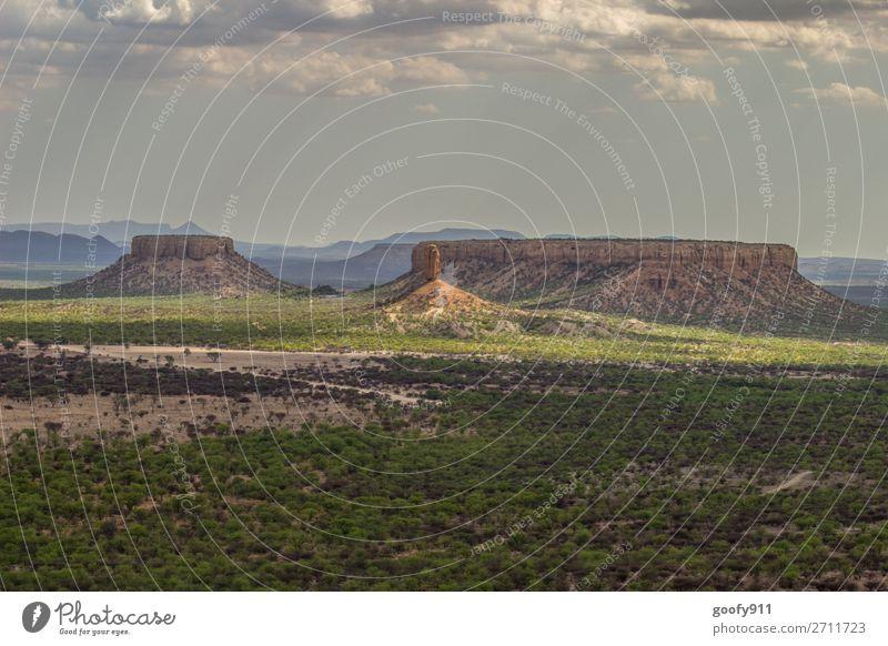 Ugab Terrassen Namibia II Ferien & Urlaub & Reisen Tourismus Ausflug Abenteuer Ferne Freiheit Expedition Sonne Berge u. Gebirge Umwelt Natur Landschaft Pflanze