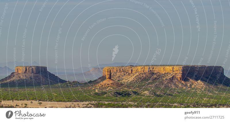 Ugab Terrassen Namibia Ferien & Urlaub & Reisen Tourismus Ausflug Abenteuer Ferne Freiheit Safari Expedition Umwelt Natur Landschaft Pflanze Tier Urelemente
