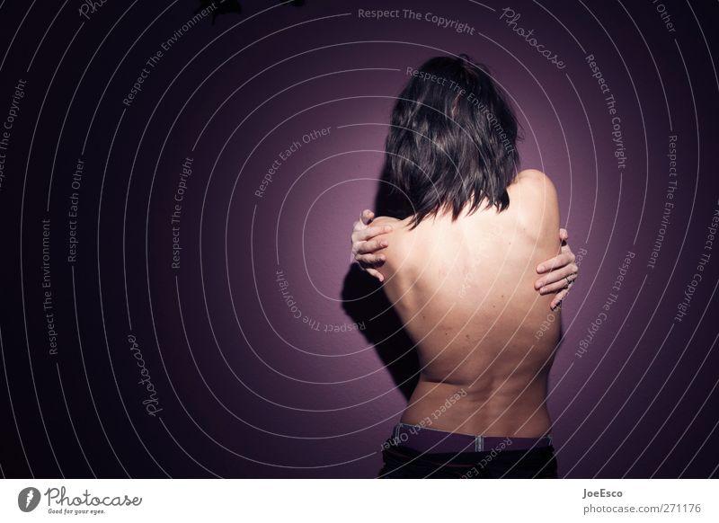 #271176 Gesundheit sportlich Leben harmonisch Wohlgefühl Erholung Massage Wohnung Frau Erwachsene Mensch 18-30 Jahre Jugendliche berühren festhalten Traurigkeit