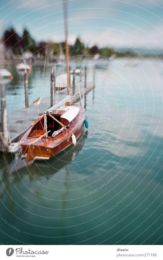 Traumschiff Ferien & Urlaub & Reisen Tourismus Ausflug Umwelt Natur Wasser Schönes Wetter See Bodensee Schifffahrt Bootsfahrt Segelboot Hafen Seil An Bord