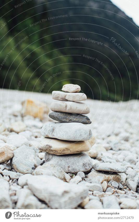 Stein Manschgerl Freude Glück sportlich Fitness Leben harmonisch Wohlgefühl Zufriedenheit Sinnesorgane Erholung ruhig Meditation Ferien & Urlaub & Reisen
