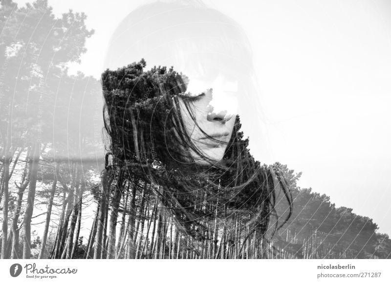 Hiddensee | You Know My Name.. Mensch Natur Ferien & Urlaub & Reisen schön Baum Wald dunkel Erotik feminin Leben Haare & Frisuren Traurigkeit außergewöhnlich wild Unendlichkeit Ewigkeit