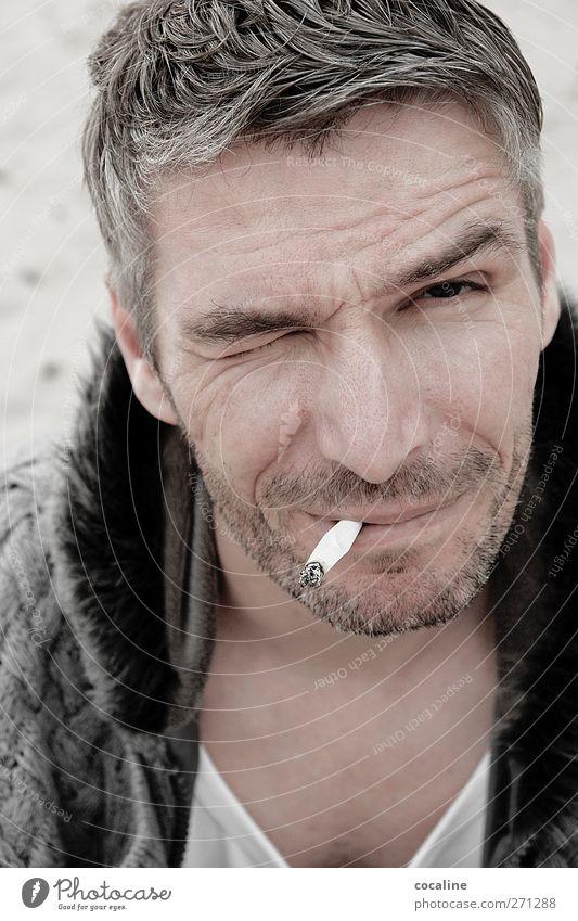 Willst du mich heiraten? Mensch Mann Jugendliche weiß schön Strand schwarz Gesicht Erwachsene Freiheit Haare & Frisuren grau Glück Stil Zufriedenheit