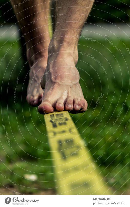 Balance Freude Beine Fuß Freizeit & Hobby Barfuß