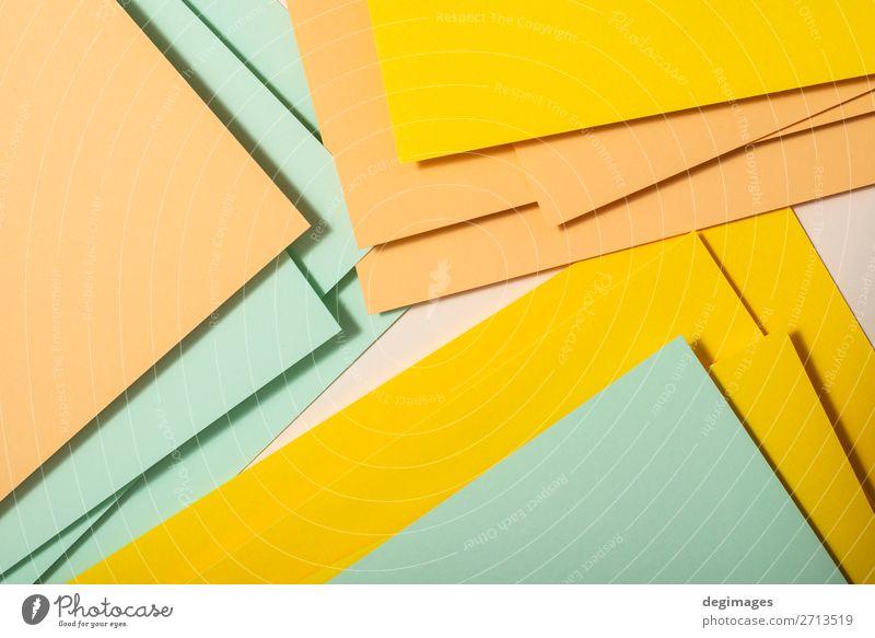 blau Farbe grün gelb Kunst rosa Design retro Papier Streifen Tapete Stillleben Material Oberfläche minimalistisch Konsistenz