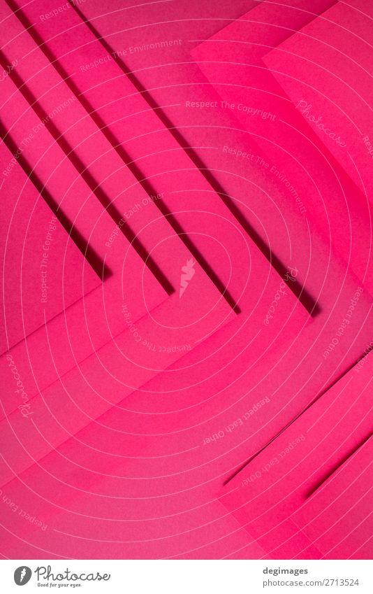 Farbe Kunst rosa Design Linie retro Papier Streifen Tapete Stillleben Handwerk Material Kurve Oberfläche minimalistisch Konsistenz