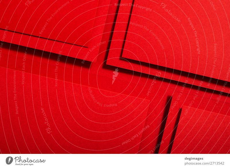 Farbe rot Kunst Design Linie retro Papier Streifen Tapete Stillleben Handwerk Material Kurve Oberfläche minimalistisch Konsistenz
