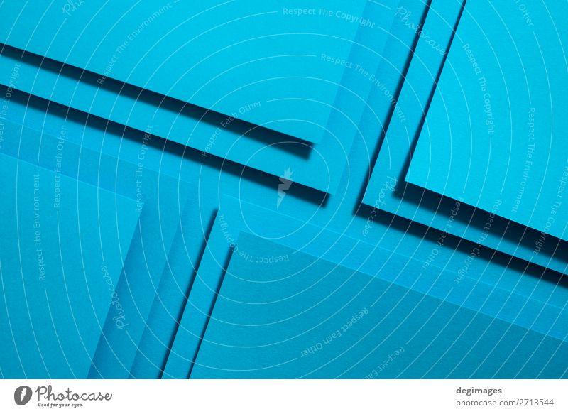 blau Farbe Kunst Design Linie retro Papier Streifen Tapete Stillleben Handwerk Material Kurve Oberfläche minimalistisch Konsistenz