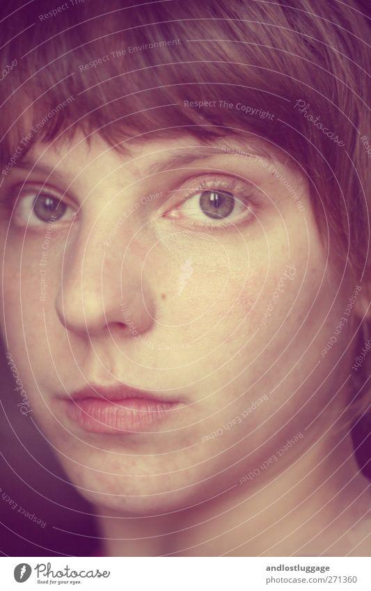 schön ist der abend. Mensch Jugendliche ruhig Gesicht Erwachsene Erholung Liebe Erotik feminin Gefühle Stimmung Junge Frau natürlich 18-30 Jahre Sicherheit