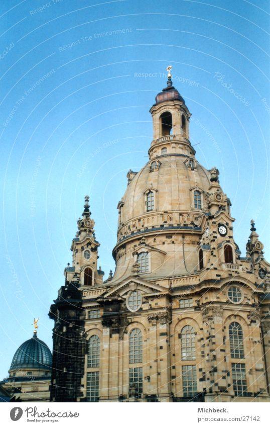 Frauenkirche zu Dresden Religion & Glaube Wahrzeichen Gotteshäuser Sachsen Sandstein Zitruspresse