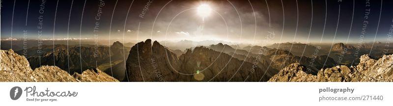 Endlose Weiten Himmel Natur Sonne Sommer Wolken Umwelt Landschaft Berge u. Gebirge Freiheit Sand Horizont Erde Wetter Felsen Wind Klima
