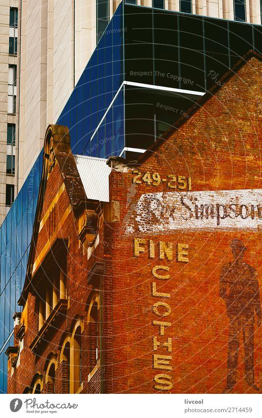 Himmel alt blau Stadt Farbe schön Haus Fenster schwarz Straße Architektur Lifestyle Graffiti gelb Stil Business