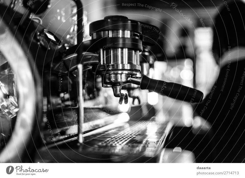 Morgenkaffee 11 Getränk Heißgetränk Kaffee Espresso Café Kantine Kaffeemaschine Lifestyle elegant Stil Freude Leben harmonisch Freizeit & Hobby Abenteuer