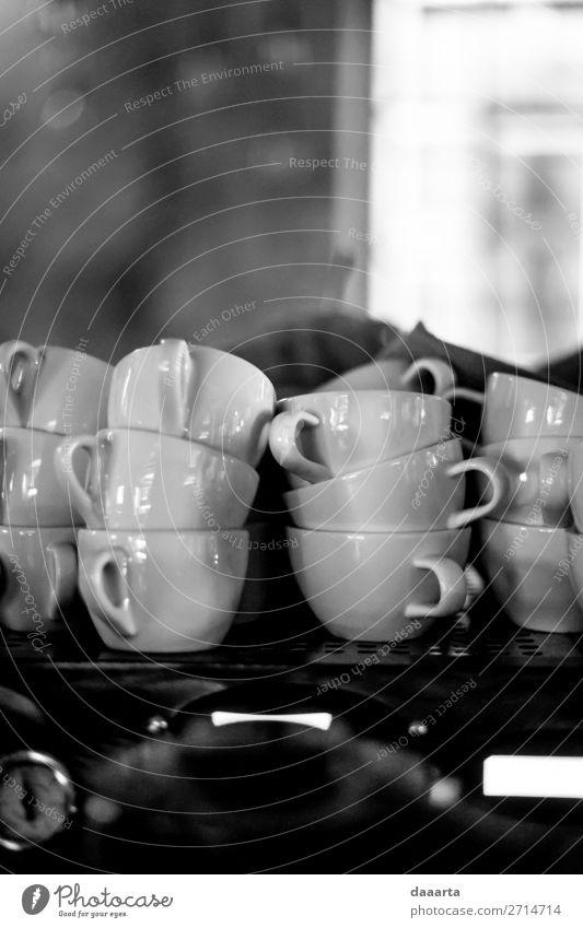 Becher Getränk Heißgetränk Kaffee Espresso Café Kantine Tasse Lifestyle elegant Stil Design Freude Leben harmonisch Freizeit & Hobby Abenteuer Freiheit