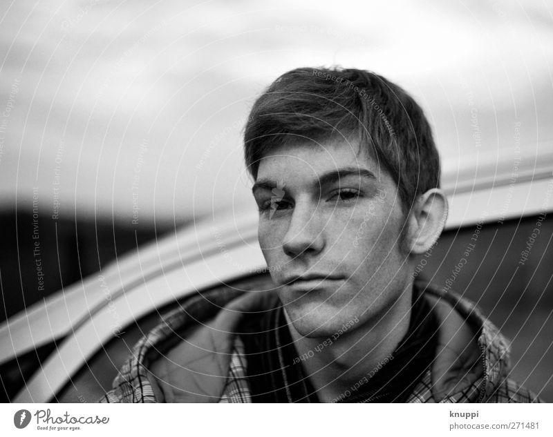 snapshot Mensch maskulin Junger Mann Jugendliche Erwachsene Geschwister Bruder Freundschaft Leben Kopf Haare & Frisuren Gesicht Auge Ohr Nase Mund Lippen 1