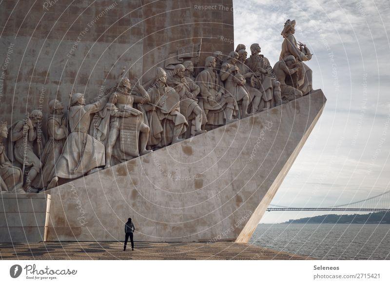 2300 l Sehenswürdigkeiten Mensch Ferien & Urlaub & Reisen Meer Tourismus Platz entdecken Bauwerk Hafen Hauptstadt Städtereise Fernweh Denkmal Sightseeing