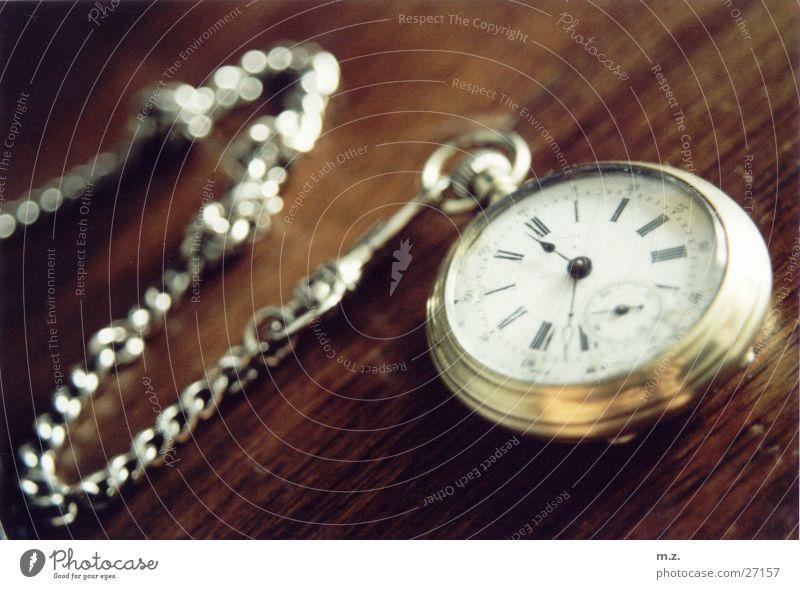 die taschenuhr Holz glänzend gold Uhr silber Taschenuhr