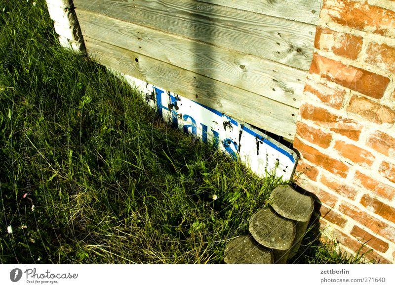 Haus Erholung Ferien & Urlaub & Reisen Tourismus Ausflug Abenteuer Sommer Meer Häusliches Leben Wohnung Garten Landschaft Horizont Ostsee Schriftzeichen