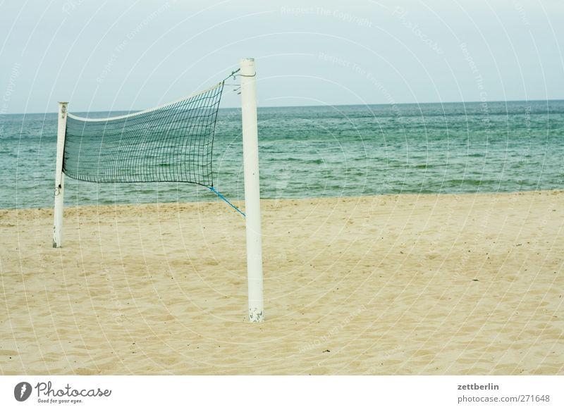 Strandtag Ferien & Urlaub & Reisen Sommer Meer Erholung Landschaft Gefühle Küste Sand Horizont Wetter Wellen Klima Insel Ausflug Tourismus