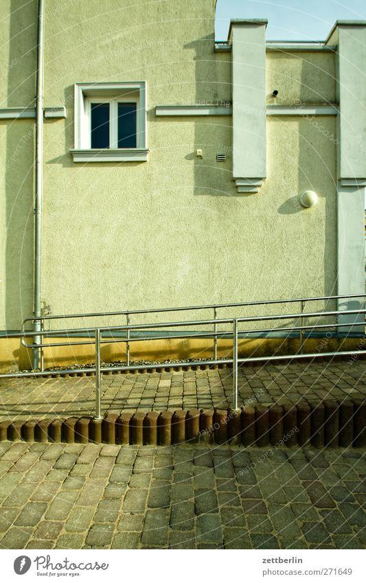 Göhren Erholung Ferien & Urlaub & Reisen Tourismus Ausflug Sommer Meer Landschaft Horizont Ostsee Kleinstadt Stadt Menschenleer Haus Einfamilienhaus Mauer Wand