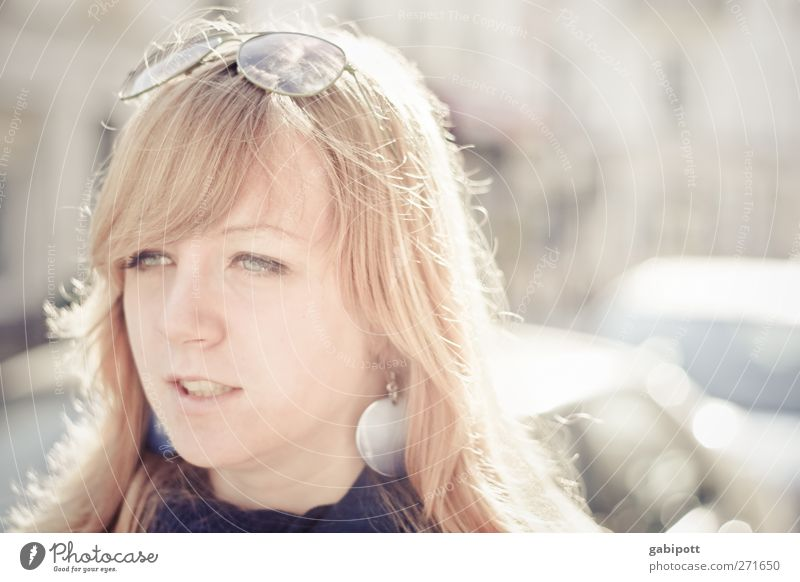 Freude Mensch feminin Junge Frau Jugendliche 1 13-18 Jahre Kind Freundlichkeit Fröhlichkeit trendy schön einzigartig Lebensfreude Sympathie Design Gefühle