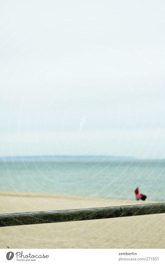 Strand Sellin harmonisch Erholung ruhig Ferien & Urlaub & Reisen Tourismus Ausflug Abenteuer Sommer Sommerurlaub Sonne Meer Landschaft Horizont Küste Ostsee gut