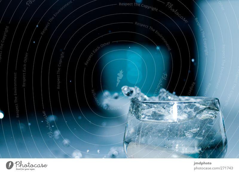 Splash III Wasser Erholung Leben Stil Glas elegant Trinkwasser Wassertropfen Lifestyle Getränk Zukunft Hoffnung trinken Küche Wellness