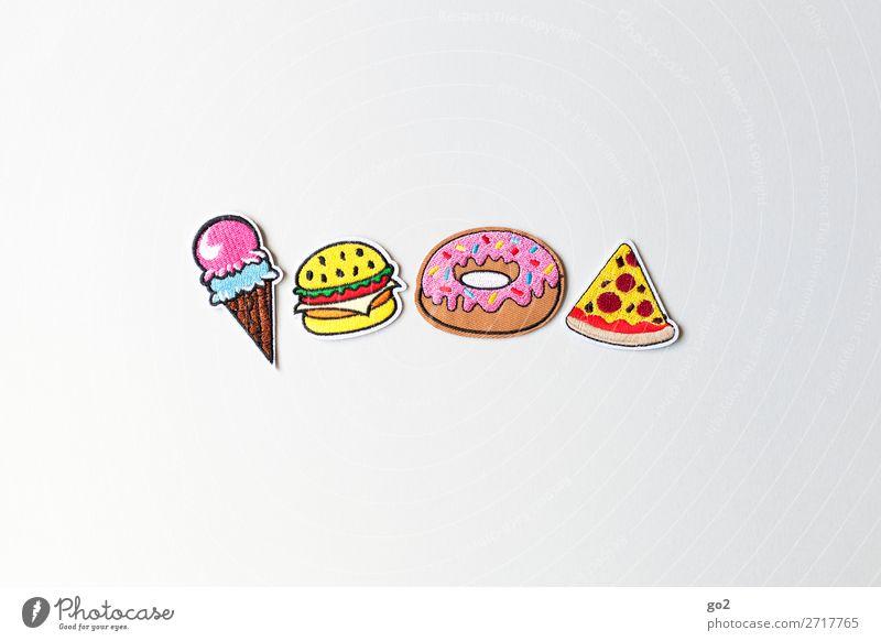 All you can eat Gesunde Ernährung Lebensmittel Essen Dekoration & Verzierung süß Lebensfreude genießen Speiseeis Zeichen lecker Süßwaren Kuchen Dessert