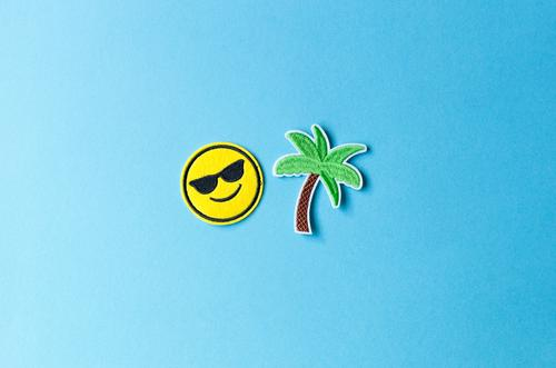 Urlaubszeit Ferien & Urlaub & Reisen Sommer Meer Erholung Freude Ferne Strand Glück Tourismus Freiheit Zufriedenheit Freizeit & Hobby Insel Fröhlichkeit