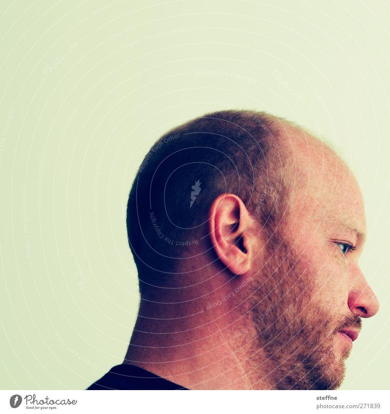 American Guy Mensch maskulin Junger Mann Jugendliche Bart 1 18-30 Jahre Erwachsene trendy Farbfoto Porträt