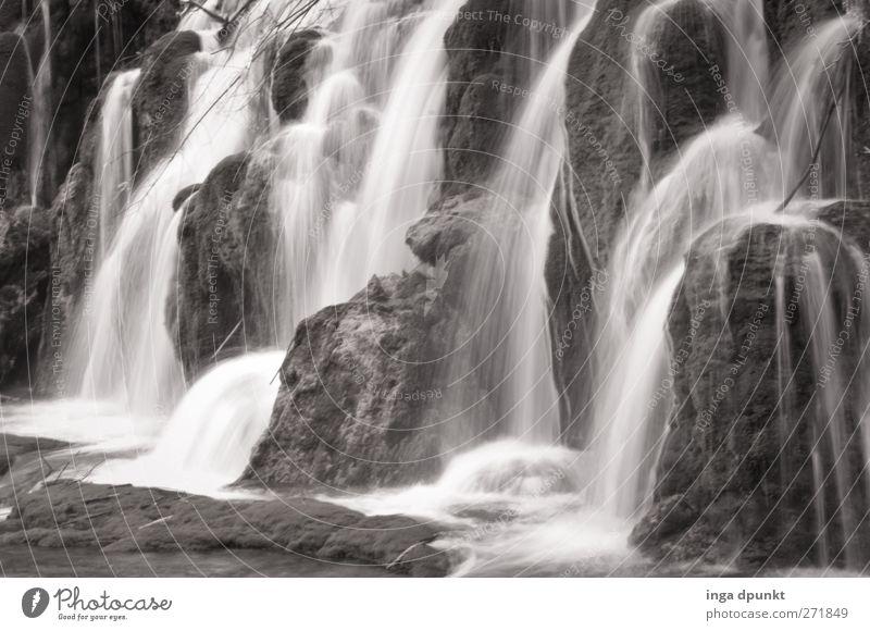 Berauschend Natur Wasser ruhig Umwelt Landschaft Gefühle Zufriedenheit Kraft wild natürlich nass Abenteuer Urelemente Fluss fantastisch China