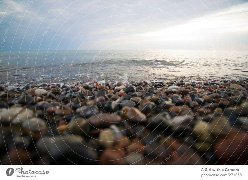 Hiddensee l where things are hidden Umwelt Natur Landschaft Urelemente Wasser Himmel Wolken Frühling Klima Schönes Wetter Küste Strand Ostsee Meer Insel liegen
