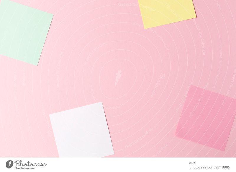 Bunte Zettel Freizeit & Hobby Basteln Schule lernen Studium Büroarbeit Schreibwaren Papier Dekoration & Verzierung ästhetisch Idee Inspiration Kreativität