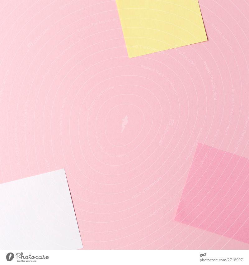 Farbige Zettel Farbe Schule Büro Design Ordnung ästhetisch Kreativität lernen Papier Idee Studium Inspiration Arbeitsplatz Schreibwaren Büroarbeit