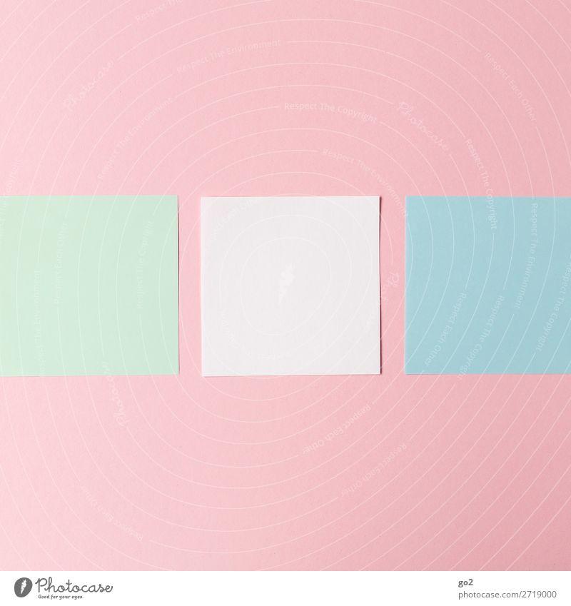 Bunte Zettel Schreibwaren Papier Dekoration & Verzierung ästhetisch Ordnungsliebe Zufriedenheit Design Inspiration blanko Farbfoto Innenaufnahme Studioaufnahme