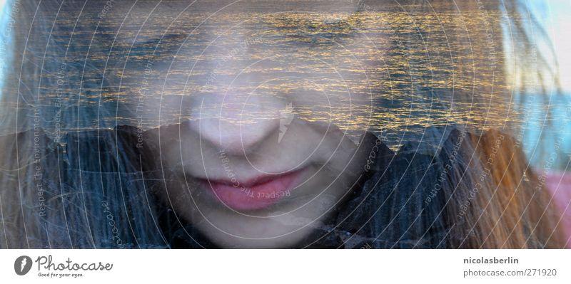 Hiddensee | Rocka on the Rocks schön Ferien & Urlaub & Reisen Abenteuer Meer Wellen feminin Junge Frau Jugendliche Lippen 18-30 Jahre Erwachsene Sonnenaufgang
