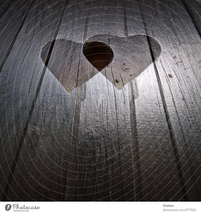 Hiddensee | love it..... Liebe Holz Glück Herz Zeichen Zusammenhalt Holzbrett trendy Doppelbelichtung