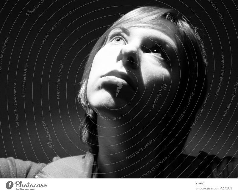 Sehnsucht Frau Ferne Lichtschein