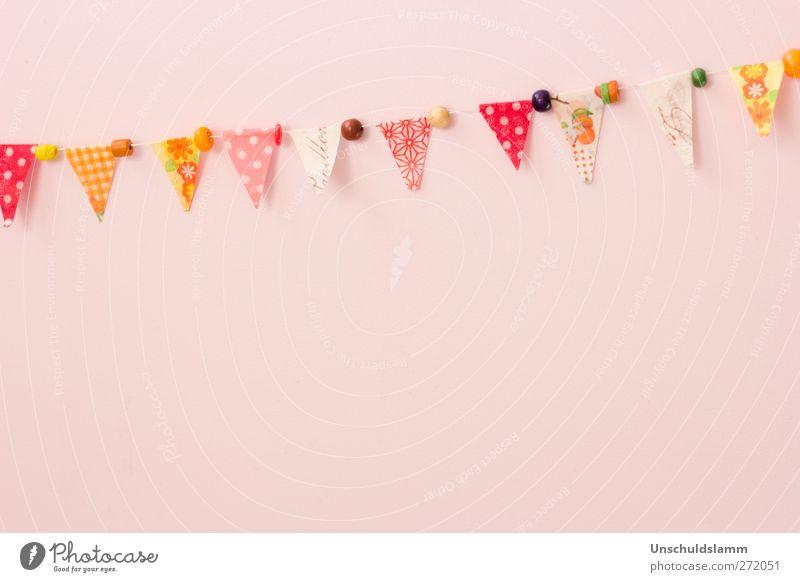Mädchengeburtstag schön Farbe rot Freude Leben Glück Feste & Feiern Stimmung hell rosa Wohnung Häusliches Leben Freizeit & Hobby Dekoration & Verzierung Geburtstag Kindheit