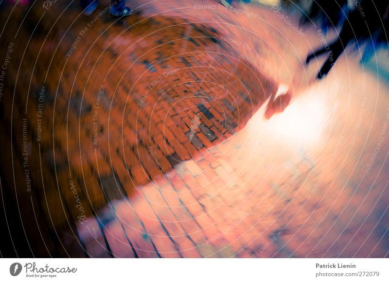 Großstadtfieber Lifestyle Stil ausgehen Mensch Stadt Platz Verkehr Personenverkehr Straße Wege & Pfade rennen Bewegung laufen außergewöhnlich bizarr Kunst