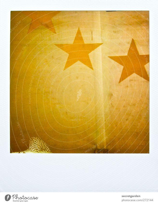 god save the queen. Zeichen retro trashig gelb weiß Nostalgie gold Stern (Symbol) Sternenzelt Sternbild Zirkuszelt 3 Fleck fehlerhaft Zeltplane goldgelb