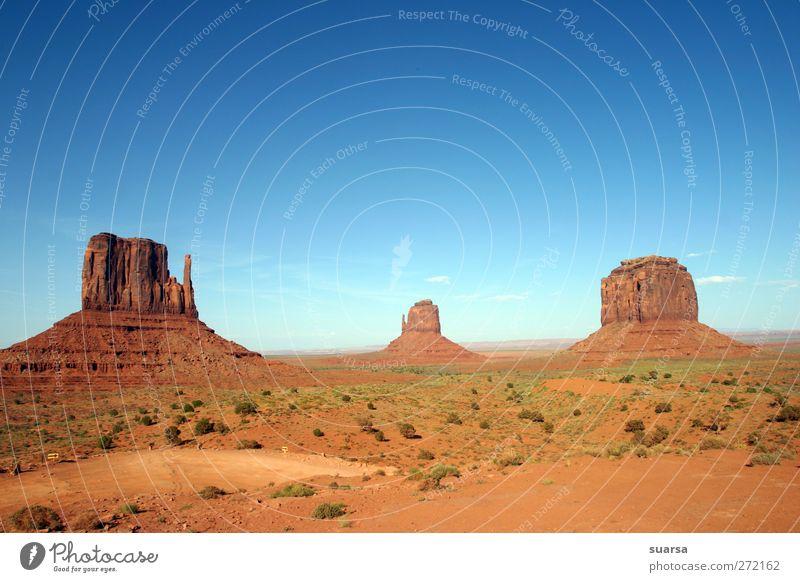 monument valley Natur Landschaft Erde Sand Himmel Nebel Dürre Felsen Schlucht Monyment Vally Arizona USA Amerika Sehenswürdigkeit Wahrzeichen Denkmal Stein