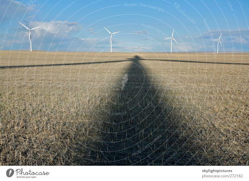Schattenkraft Energiewirtschaft Erneuerbare Energie Windkraftanlage Energiekrise Industrie Umwelt nachhaltig grün Turbine Windmühle Kraft Elektrizität